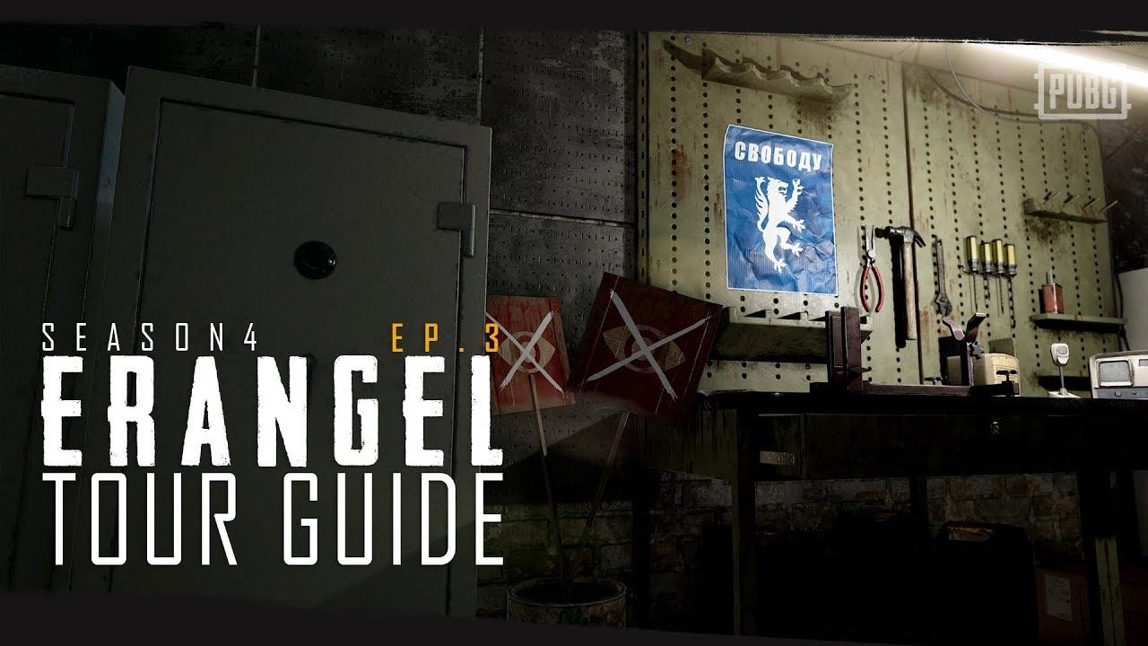 PUBG - Season 4 - Erangel Tour Guide Episode 3