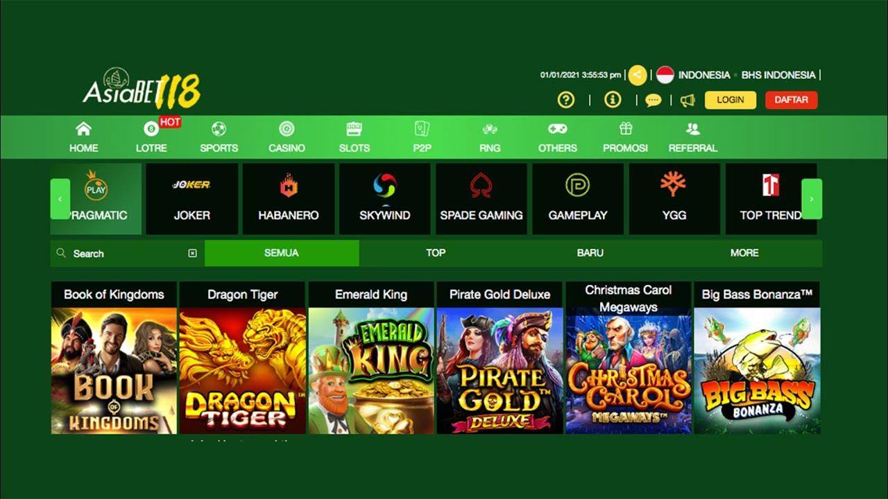 Situs Judi Slots Online Terbaru 2021 Asiabet118 Agen Resmi Youtube