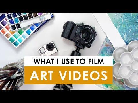 How I Film My ART Videos