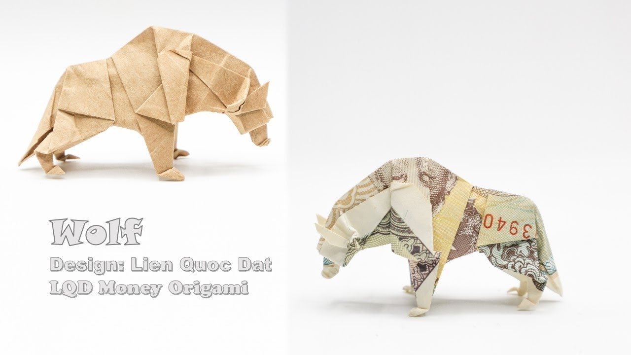 Modular Money Origami Star from 5 Bills - How to Fold Step by Step   720x1280