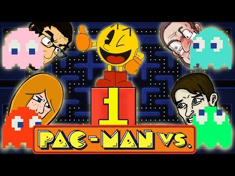 Let's Play Pac Man VS Gameplay (Gamecube)  - Pac Man Versus Part 1 - Pacman Ate The Power Pellet!