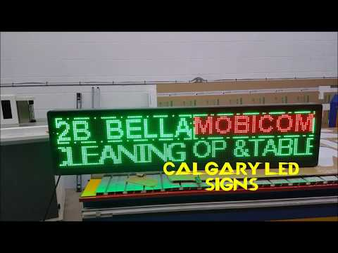 LED Screen Display   Calgary