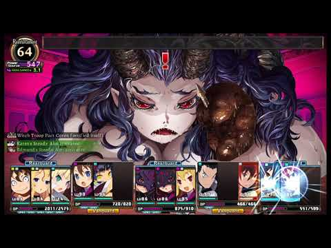 Labyrinth of Refrain: Coven of Dusk - Overlord Furfur boss battle (Gentle World Difficulty) |