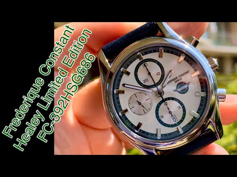 Frederique Constant Healey Limited Edition FC-392HSG686 Instagram: AllinTime2018 (I LOVE WATCHES)