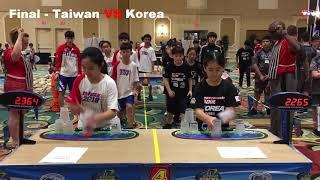 WSSC 2018美國競技疊杯世界賽12U團體徒手接力~H-T-H Relay~Sport Stacking~