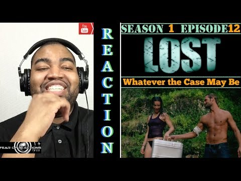 LOST 1x12 Whatever the Case May Be REACTION