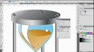 How to Create an Hourglass Icon in About an Hour - Screencast