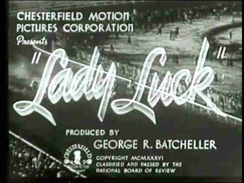 """Lady Luck"" (1936) Patricia Farr, William Bakewell, Lulu McConnell, Charles Lane"