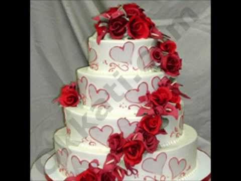 Rouge Red On White Wedding Cake 7kgs Cakes And Cookies Birthday Gifts To India