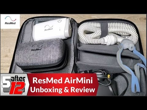 ResMed AirMini   P10 Mask Pack   Unboxing, Real World Usage, And Review