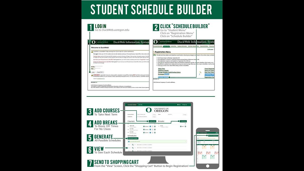 university schedule maker