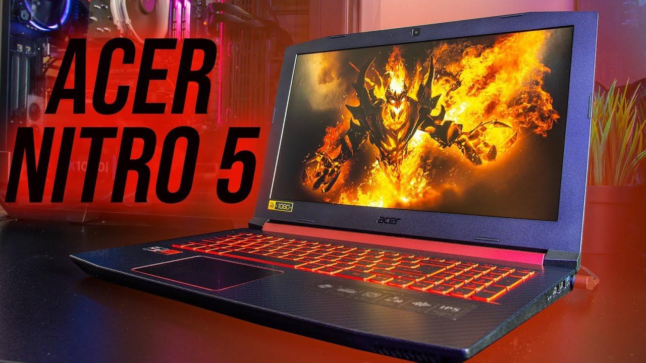 Acer Nitro 5 (AMD Ryzen) Gaming Laptop Review