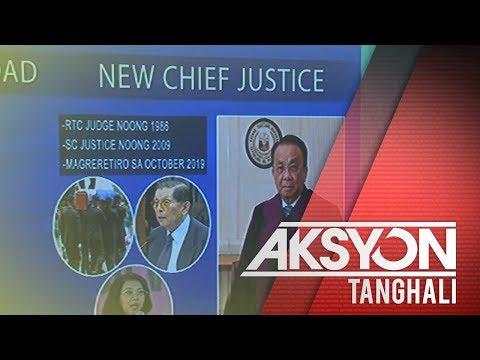 Justice Bersamin, itinalaga bilang bagong Supreme Court Chief Justice
