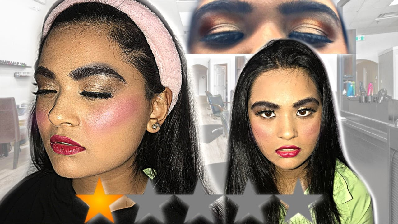 I WENT TO THE WORST REVIEWED MAKEUP ARTIST IN MY CITY PART 2...(gets worse)