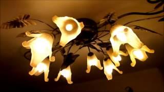Сравнение лампочки  E14 светодиодные свечи и НЛО  и E14 - флуоресцентный  PHILIPS(, 2014-09-21T09:11:59.000Z)