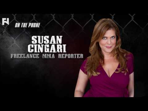 Susan Cingari recaps UFC Fight Night with Gabe Morency of The Fight Network