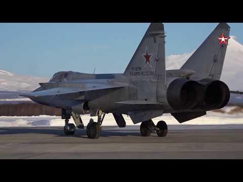 Перехват самолетом МиГ-31