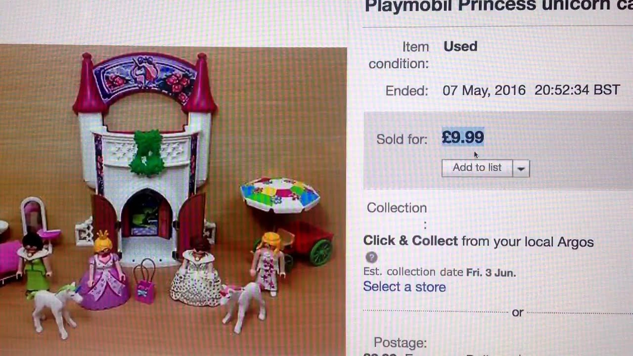 Playmobil Haul sales round up How to sell on eBay selling toys