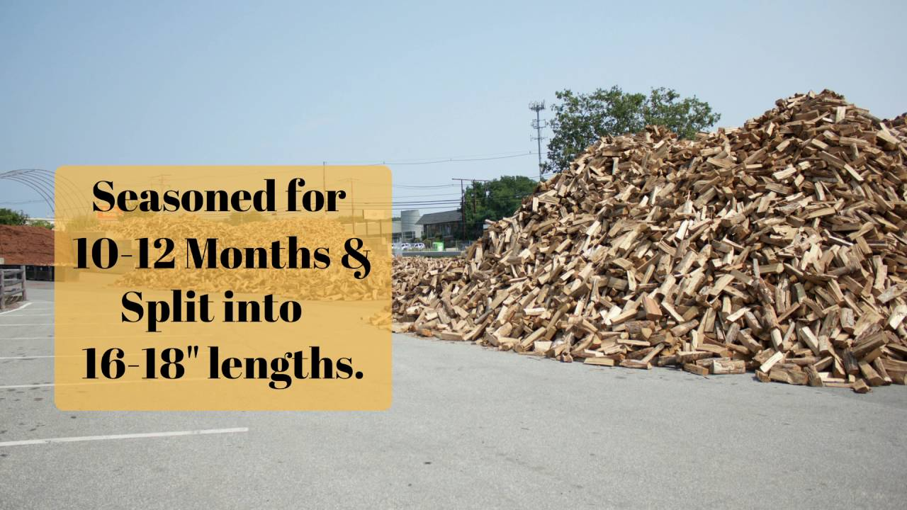 Seasoned Firewood Delivery Or Pickup