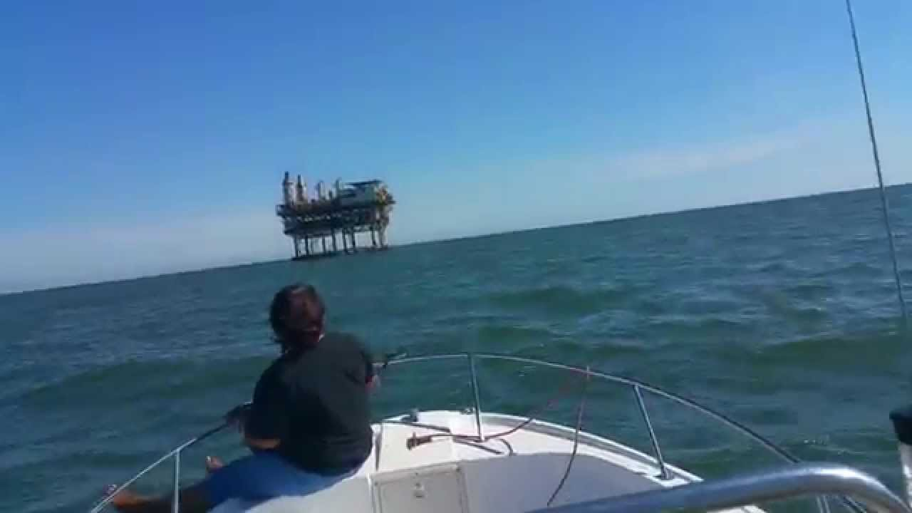 Galveston north jetty fishing youtube for Galveston jetty fishing report
