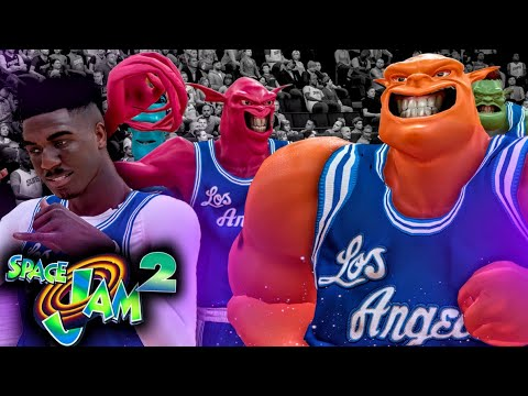 2d59104f14e Space Jam 2 MONSTARS MyCareer  1 - The MONSTARS First OFFICIAL NBA GAME!