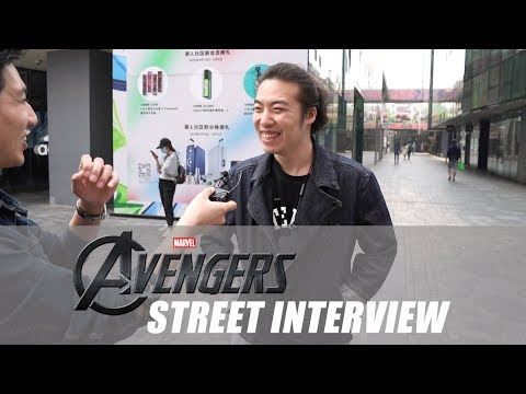 Interviewing Chinese Audiences Before Avengers: Endgame China Premiere