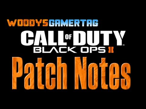 Black Ops 2 Call Of Duty Patch Notes