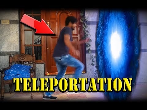 HOW I TRAVELED THROUGH TELEPORTATION - AFTER EFFECTS