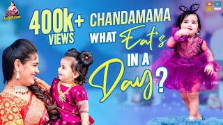 Chandamama what Eat's in a Day ..? || Baby Food || Itlu Mee AnjaliPavan