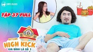 Gia đình là số 1 sitcom | tập 37 full: Tiến Luật không dám ăn vì sợ Thu Trang giận dỗi