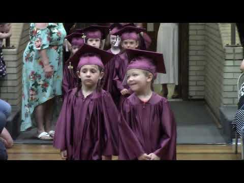 Mooers Elementary School Kindergarten Graduation  6-20-19