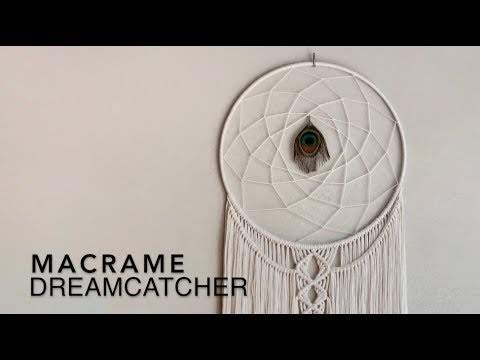 DIY Macrame Tutorial - Dreamcatcher