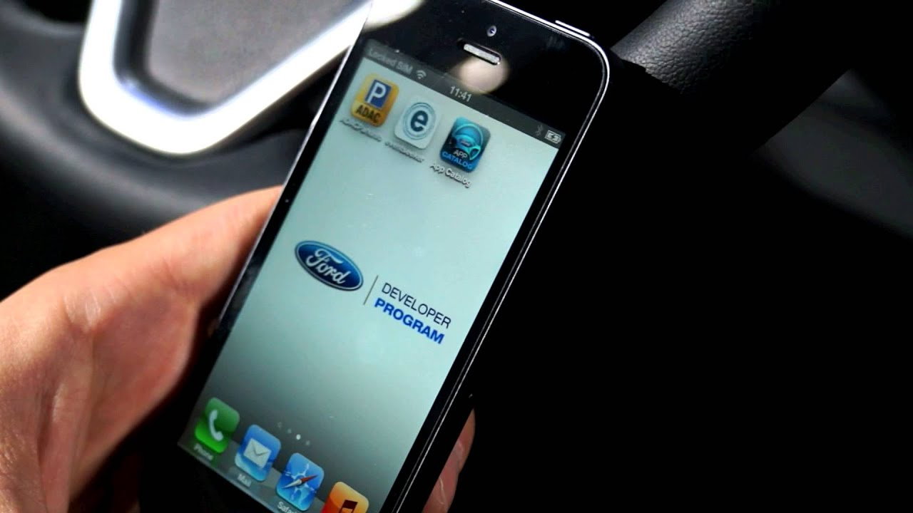 ifa 2013 ford sync applink smartphone integration im auto youtube. Black Bedroom Furniture Sets. Home Design Ideas