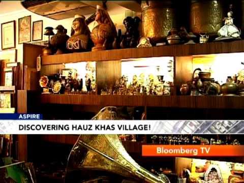 Aspire: Hangout: Delhi's Hauz Khas Village