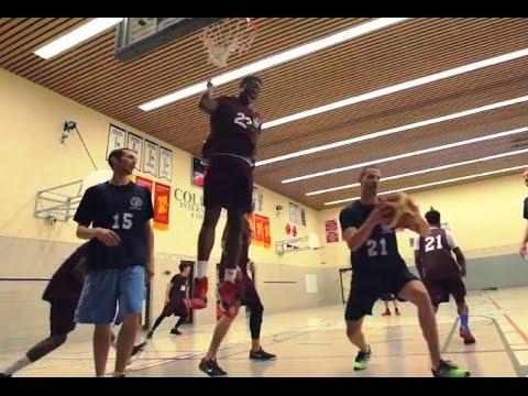 Staff vs. Students Basketball Game