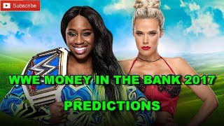 WWE Money In The Bank 2017 Smackdown Women