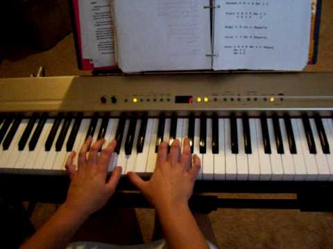 I Celebrate The Day Relient K Piano Cover