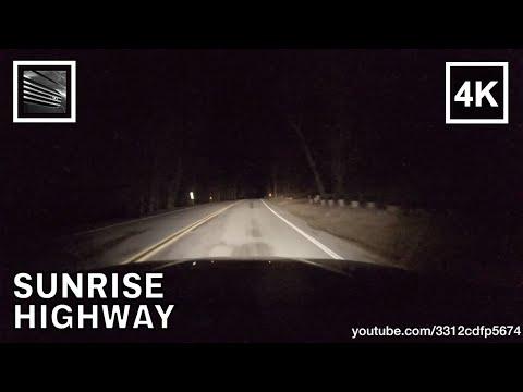Driving on Sunrise Highway S-1 Mount Laguna, BMW M3 E46