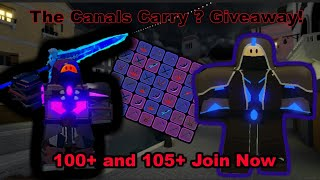 Roblox: Dungeon Quest! LvL 127 Carry! The Canals! Insane and Nightmare ( Giveaway )