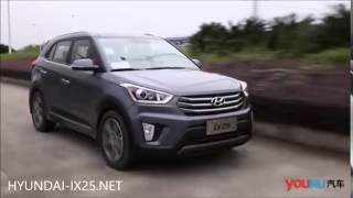 Обзор Hyundai CRETA ix25 2016 новый кроссовер смотреть