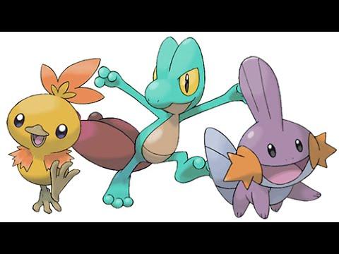 Pokemon Omega Ruby/Alpha Sapphire - Shiny Torchic Treecko ...