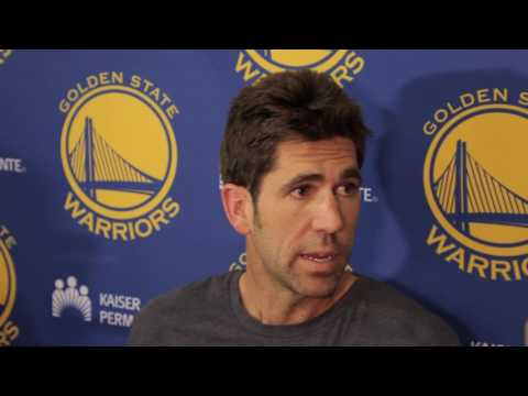 Bob Myers gives update on Steve Kerr
