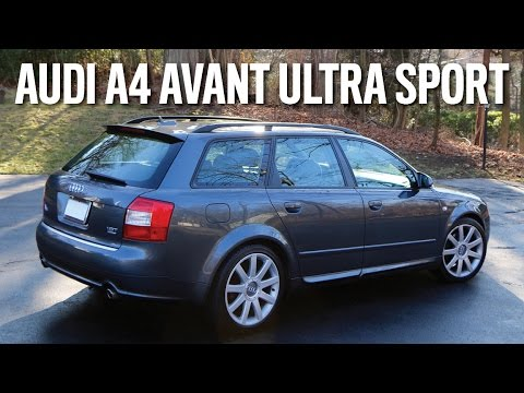 audi a4 avant with ultra sport package review youtube. Black Bedroom Furniture Sets. Home Design Ideas