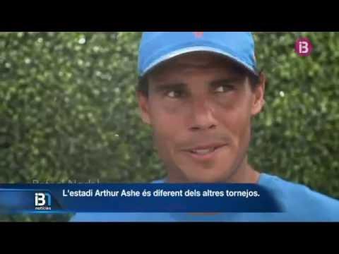 Rafel Nadal debuta al US Open contra Istomin