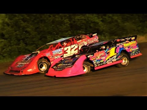 7-11-19 Late Model Heats I-96 Speedway