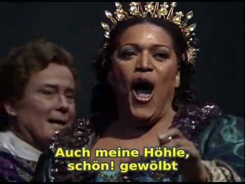 Jessy Norman - Gibt es kein Hinüber? - Richard Strauss - Ariadne auf Naxos (with German subtitles)