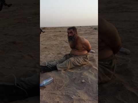 أبطال الشرطه الاتحادية يمسكون داعشي في جزيره الخالديه مقطع يفوتك يضحكون علي