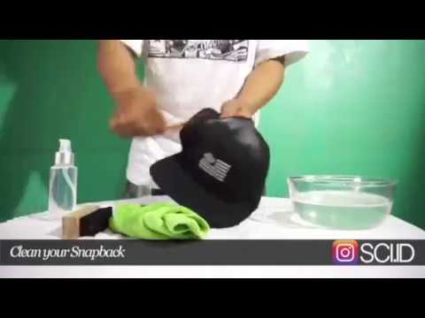 Tutorial : How to Cleaning your Snapback / Hat