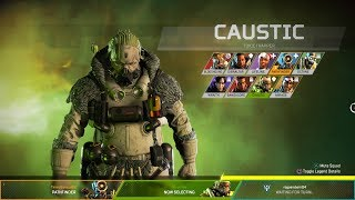 Apex Legends-ALL CHARACTERS-INTROS-UHD