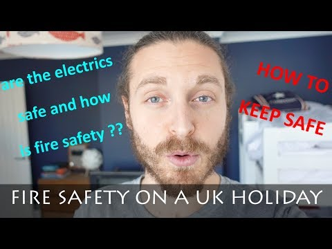FIRE SAFETY ON HOLIDAY IN THE UK | DANS THE ENGINEER
